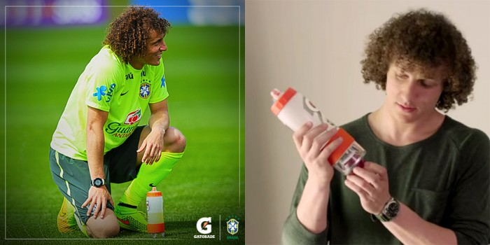 World Cup Gatorade Bottles Let Coaches Monitor Player Hydration Levels