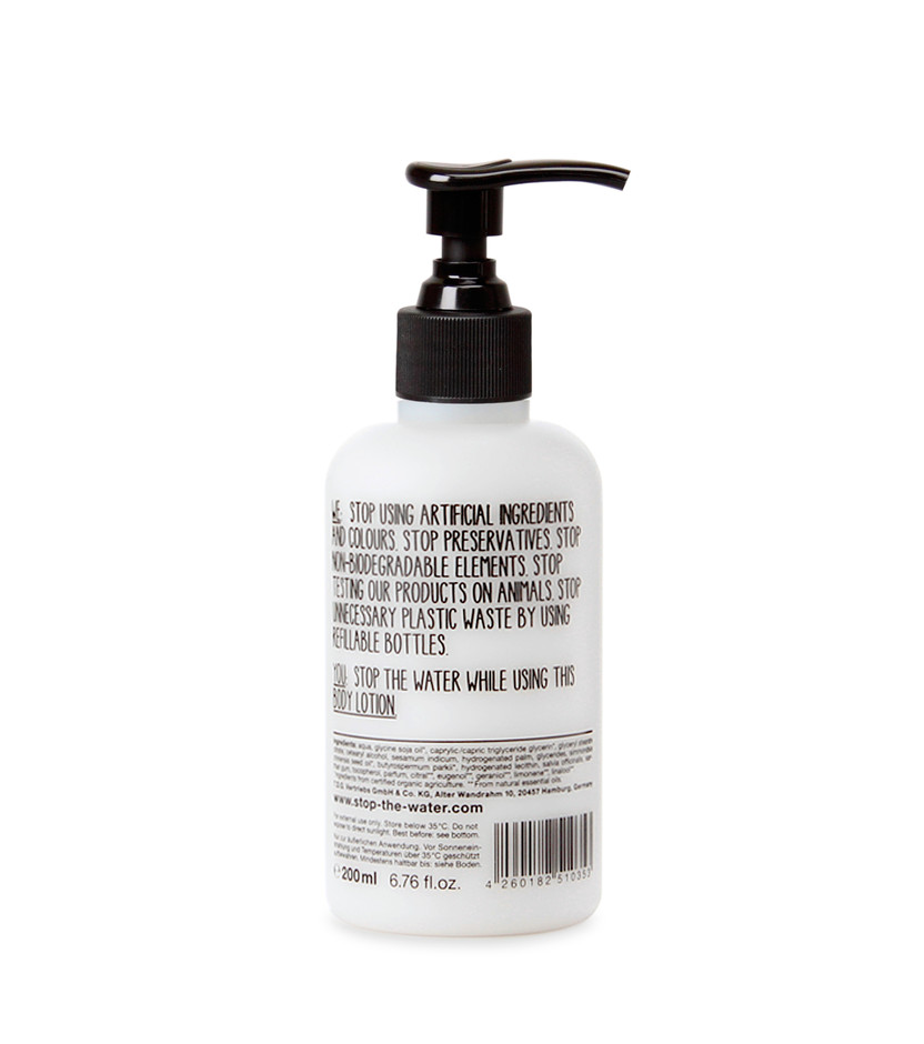 - Stop The Water While Using Me! - Sesame sage body lotion 200ml