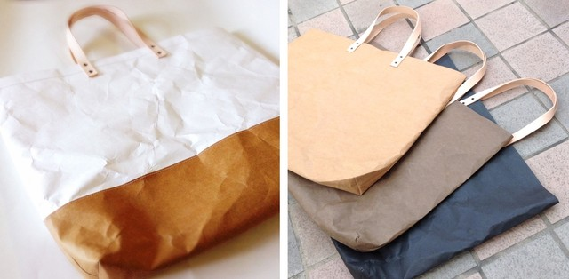 We are offering washable paper town tote | Crowdfunding - Makuake Crowdfunding - Makuake
