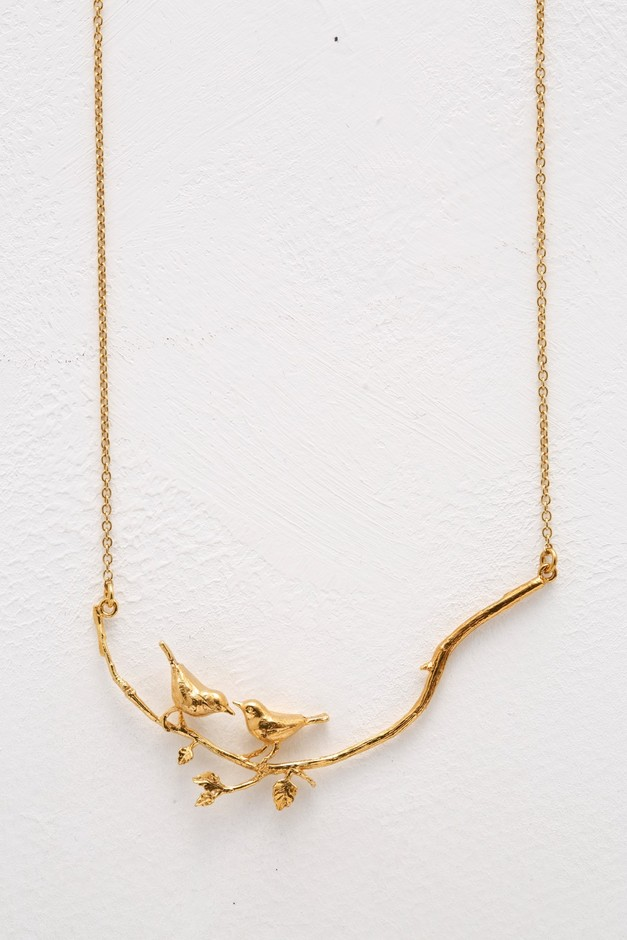 haco! てとひとて Alex Monroe Gold Two Birds On A Branch Necklace<ゴールド> | ファッション通販のhaco!