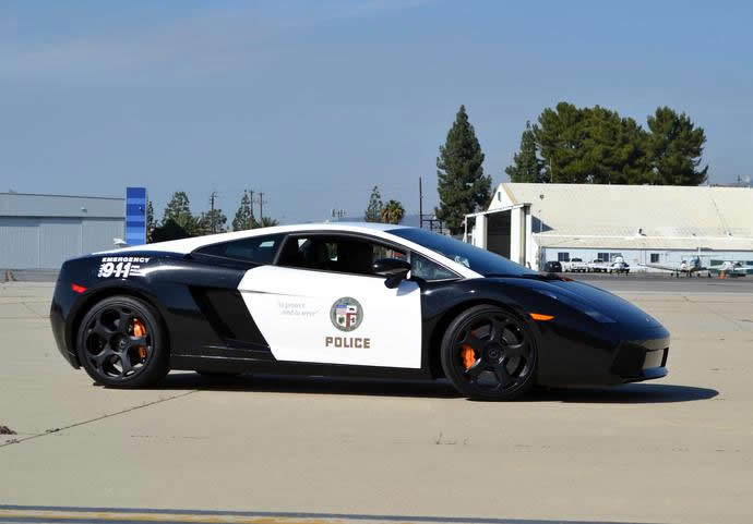 The LAPD adds a swanky Lamborghini Gallardo to its patrol car fleet | Luxurylaunches