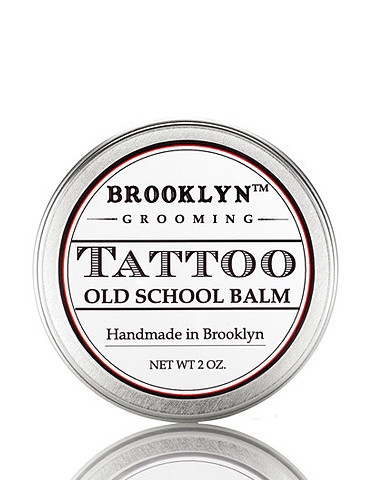 Tattoo Balm 2 oz. | Handmade, natural men's grooming products from Brooklyn Grooming