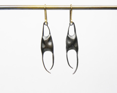 Small Skate Egg Case Earrings
