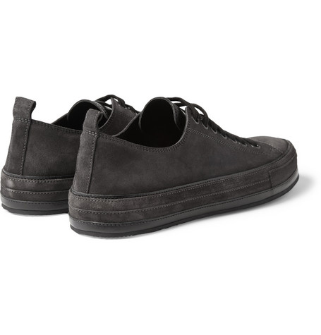 Ann Demeulemeester - Suede Low Top Sneakers|MR PORTER