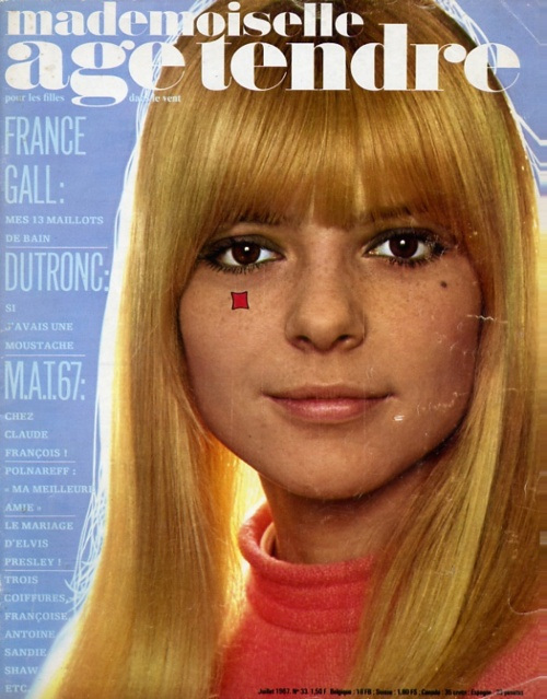 Mademoiselle Age Tendre: France Gall . | The Boss Hog