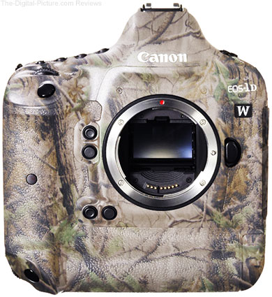 Just Announced: Canon EOS-1D W: The Professional DSLR Designed Specifically for Wildlife Photographers
