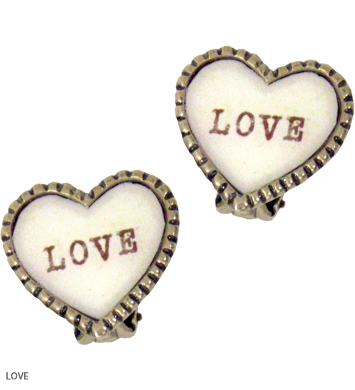 ACCESSORY - SWEET HEART clip earring - Katie Official Web Store