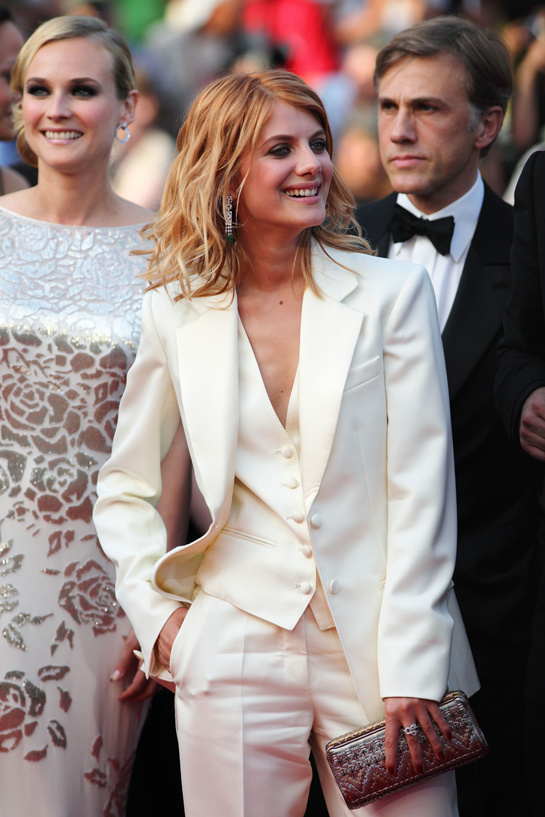 Mélanie Laurent in Yves Saint Laurent at the Festival of Cannes 2009 27 | Fashion | Vogue