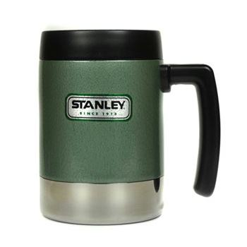 New Stanley Green Stainless Steel 18oz Classic Mug with Flip Lid - Surplus and Outdoors