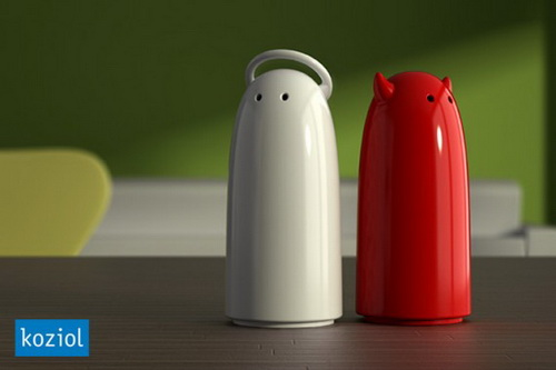 Weird Salt & Pepper Dispensers | Weirdomatic
