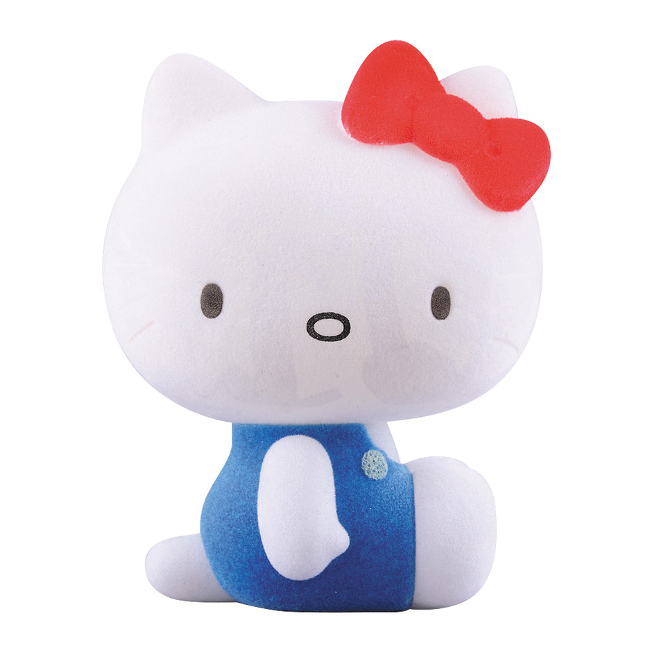MEDICOM TOY - VCD Caperino & Peperone HELLO KITTY