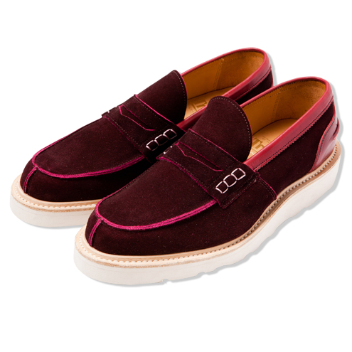 ×Tricker's TWO TONE STEP IN LOAFER | COLLECTION | CASH CA | カシュカ