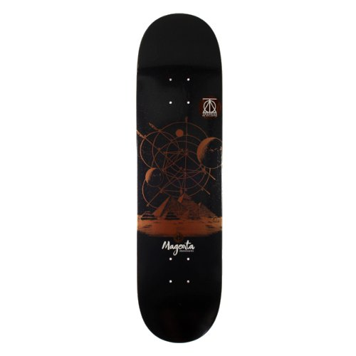 MAGENTA - THEORIES COLLAB (8 X 32) - Growth skateboard elements