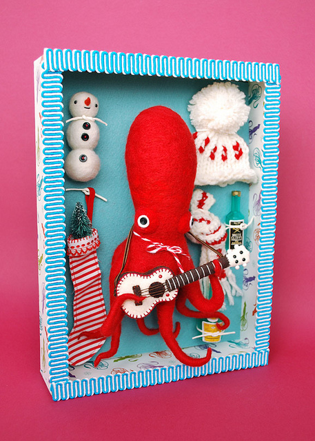 Dress-Up Octopus(着せ替えタコ人形セット) | Flickr - Photo Sharing!