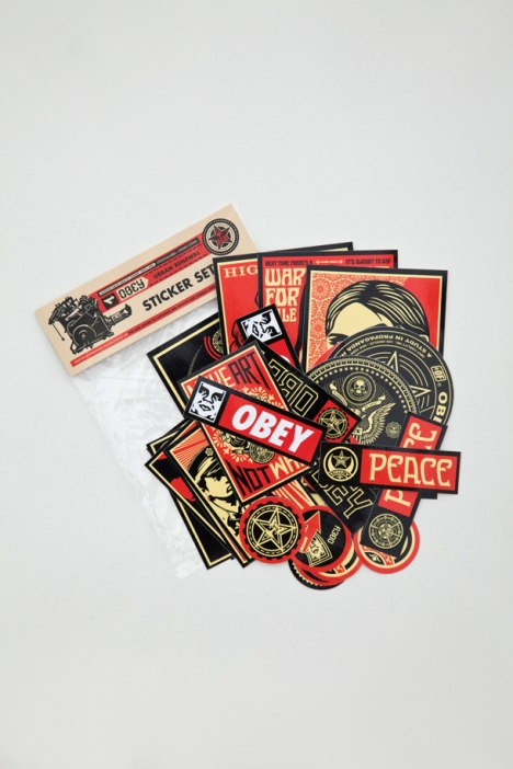 OBEY CLOTHING - OBEY STICKER PACK