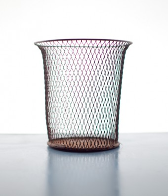 Northwest Expanded Metal Co. Wastebasket | Sit and Read