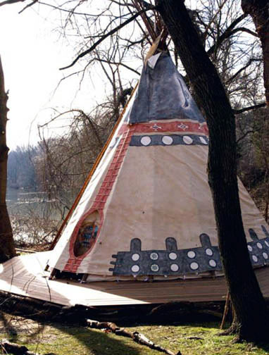 Nomadics Tipi Makers :: Photo Gallery