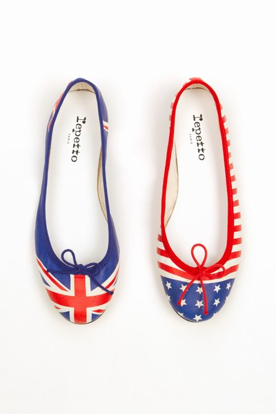 REPETTO OC- EXCLUSIVE FLAG BALLERINA FLATS - WOMEN - LONDON POP-UP - REPETTO - OPENING CEREMONY