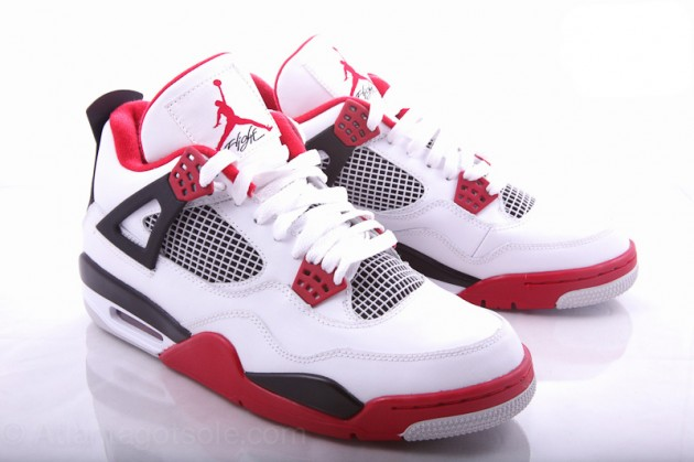 "Air Jordan 4 ""Fire Red"" — NiceKicks.com"