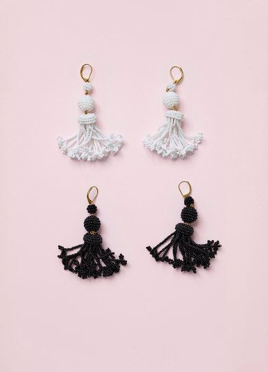 Beads Pompon Earrings - Spring / Summer Collection 2016 | セリーヌについて