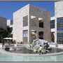 travel - world architecture - j paul getty museum - d holmes chamberlin jr - architect
