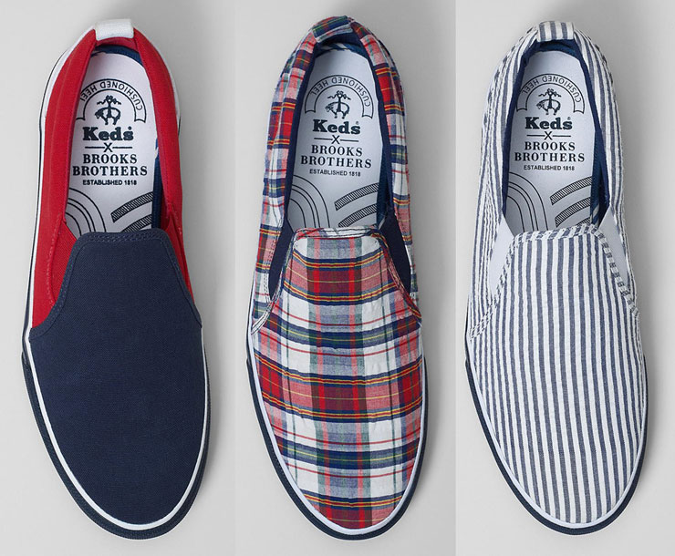 Brooks Brothers x Keds Capsule Collection | IAMFATTERTHANYOU.COM