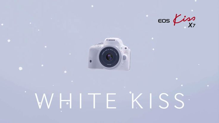 "[CF] Canon DSLR ""EOS Kiss X7"" (White) 2013CM 