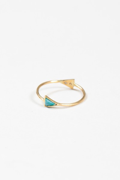 Double Triangle Ring - Accessories - Categories