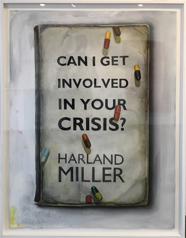Can I Get Involved in Your Crisis by Harland Miller on artnet