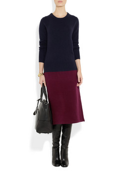 Marc by Marc Jacobs | Ariana two-tone merino wool-blend sweater dress | NET-A-PORTER.COM