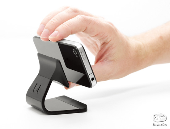Bluelounge - Milo: Micro-suction stand for your smartphone
