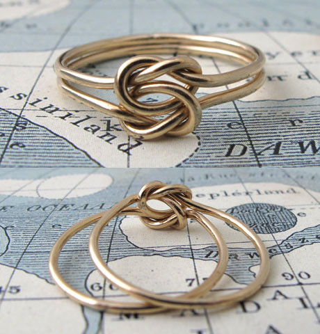 Lover's Knot Ring | Erica Weiner