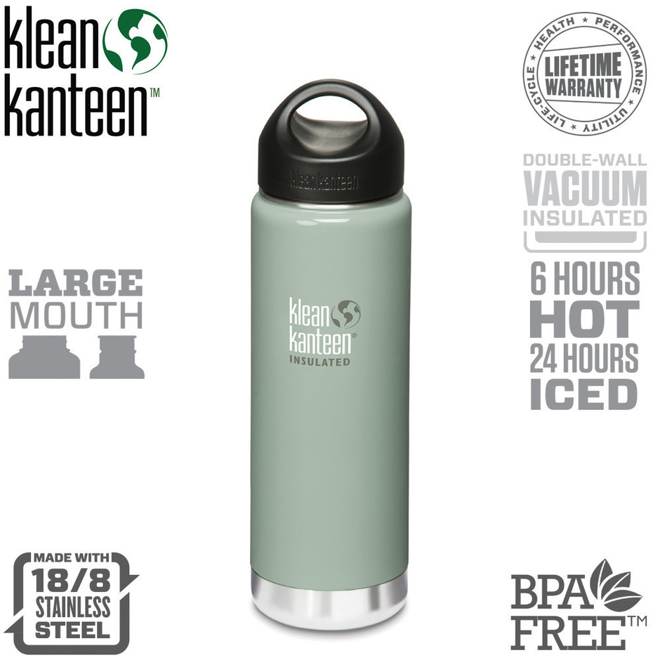 Klean Kanteen Vacuum Insulated Wide 20 oz Bottle – Dixie Pickers