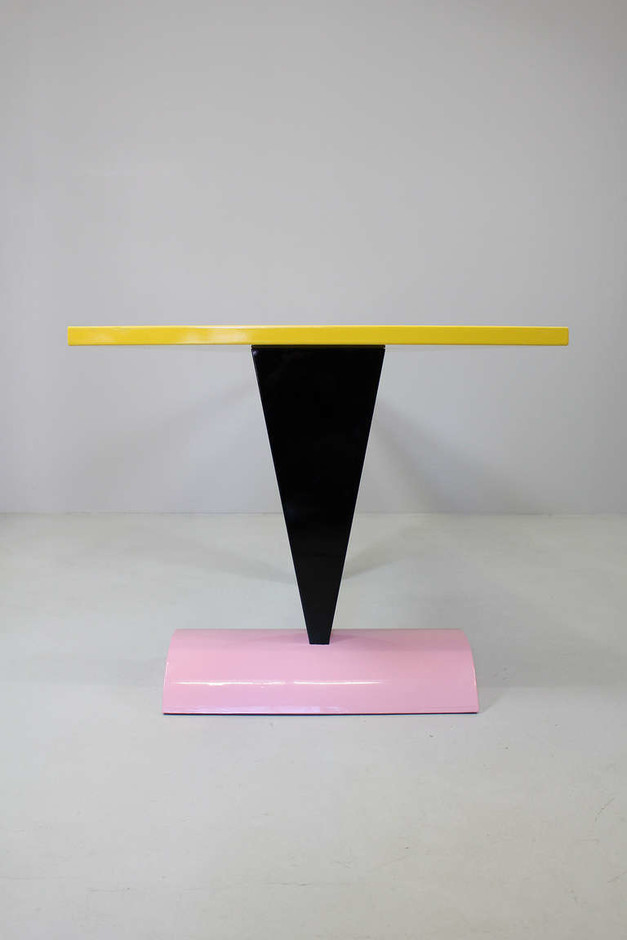 """Table """"Brazil"""" by Peter Shire, Memphis Milano, 1981 at 1stdibs"""