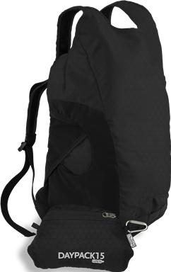 ChicoBag | Product | DayPack15 rePETe Black