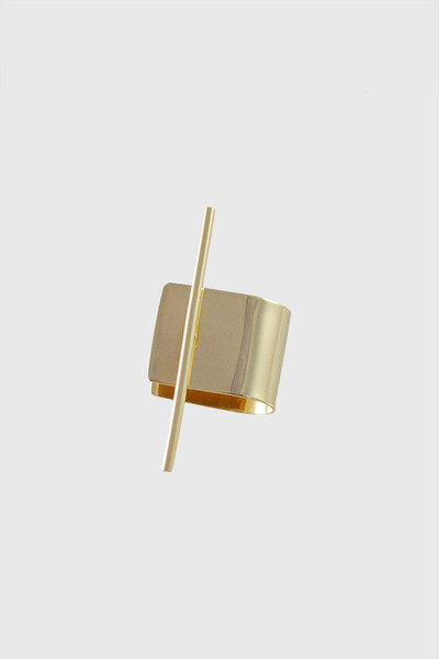 Kathleen Whitaker 14k Stick Stud and Ear Cuff – Metier
