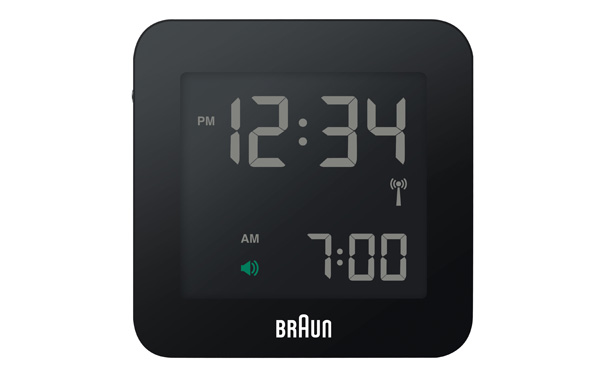 BRAUN / ブラウン「Global Radio Controlled Digital Alarm Clock」BNC009 / Black - インテリア雑貨のセレクトショップ NOFF NORTICASA