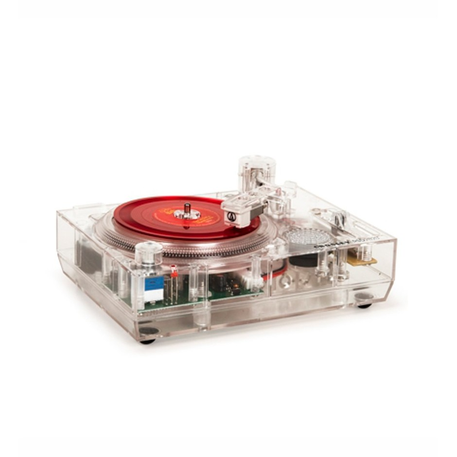 Limited Edition RSD2020 Mini Turntable Clear - OPEN FORMAT