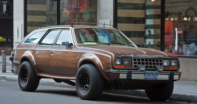 AMC Eagle Wagon, Financial District, NYC | Flickr - Photo Sharing!