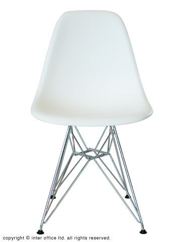 Eames Shell Side Chair DSR (White)