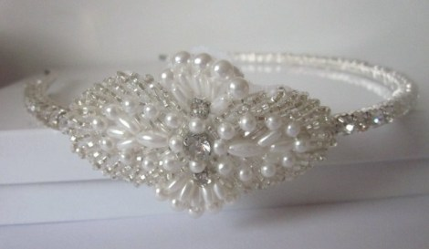Luxury Hair Piece - AVA - Crystal Rhinestone Headband | Luulla