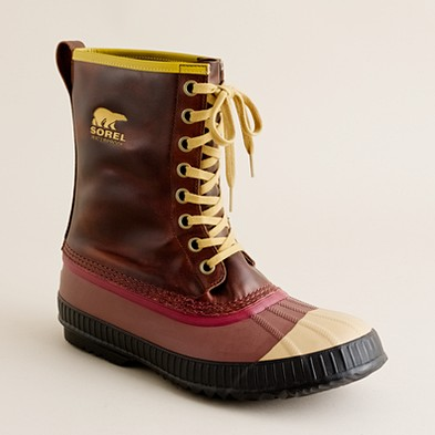 Men's shoes - weather boots - Sorel® for J.Crew Sentry Pac boots - J.Crew