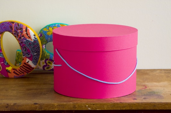 Hat Box S - box and needle on-line boutique