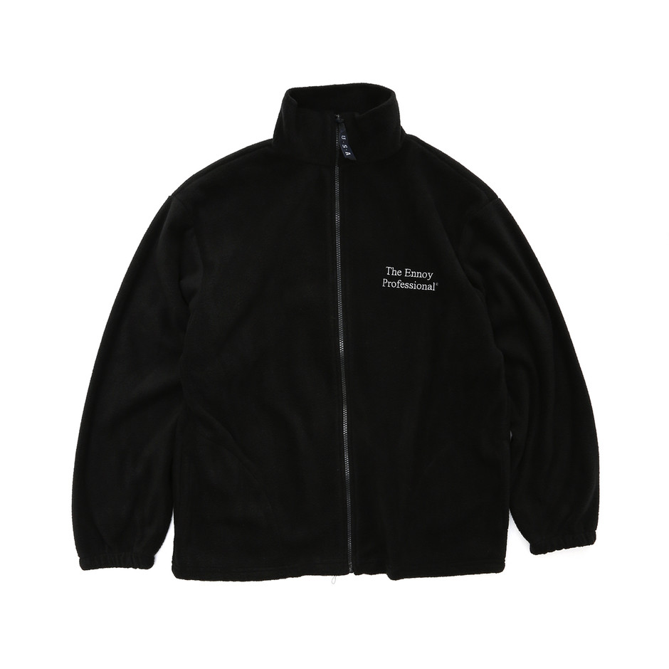 The Ennoy Professional®︎ Full-Zip Fleece (BLACK) | ennoy