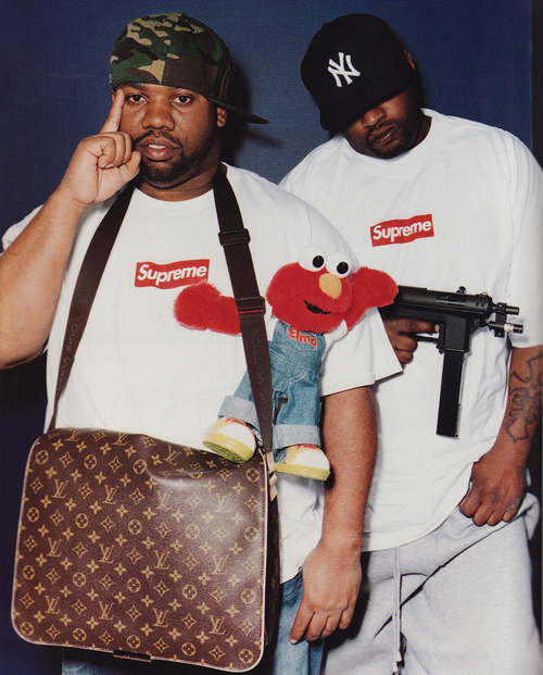 PICTURE OF THE DAY- Supreme x Raekwon x Ghostface x Elmo - LPMO Blog