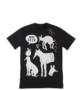 Rockwell by Parra - t-shirt no beer