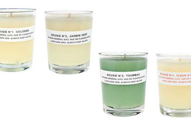A.P.C. Candles | Hypebeast