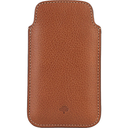 Natural leather iPhone 5 case - MULBERRY - Her - Gift Ideas - Gifts | selfridges.com