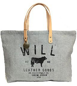 Amazon.co.jp: [ウィルレザーグッズ]WILL LEATHER GOODS トートバッグ SMALL CLASSIC CARRY ALL(スモールクラシックキャリーオール) 31057 [並行輸入品]: シューズ&バッグ