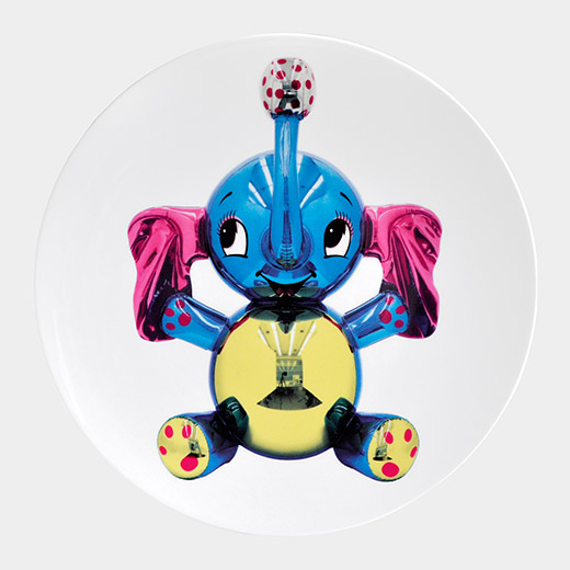 Jeff Koons: Elephant Plate | Modern / Contemporary Artist Products | MoMA Design Store